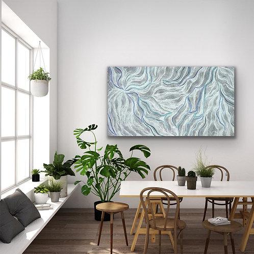 Mina Mina by Elsie Granites Napanangka 150x85cm