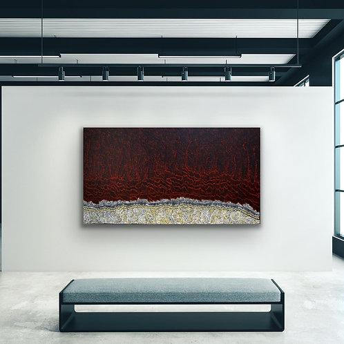 Fire Dreaming by Jorna Newberry 182x100cm