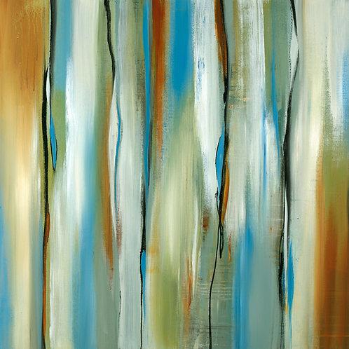Bright Days by Lisa Ridgers 40x40cm