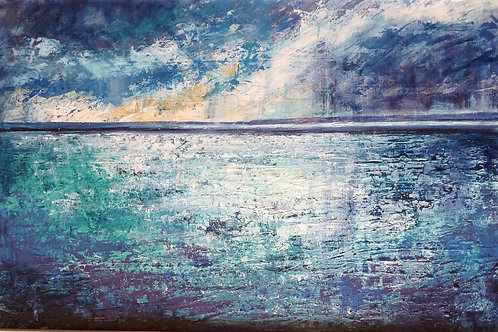 Seascape by Jane Vaux - by commission