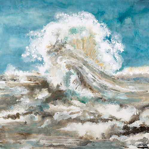 Ocean Wave by Liz Jardine 30x30cm