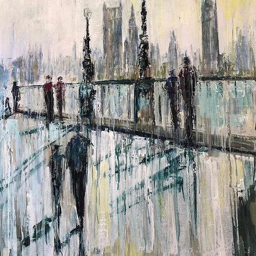 Westminster by Jane Vaux 90x90cm