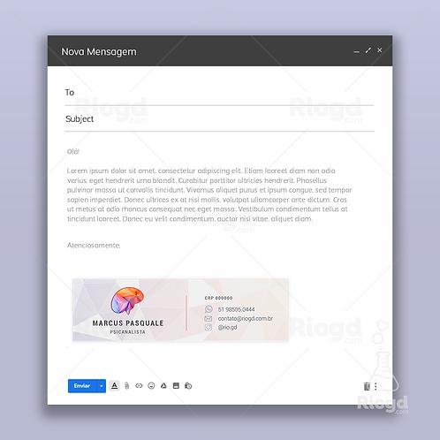 Assinatura de E-mail Personalizada para Psicólogos Mentalize Fragment