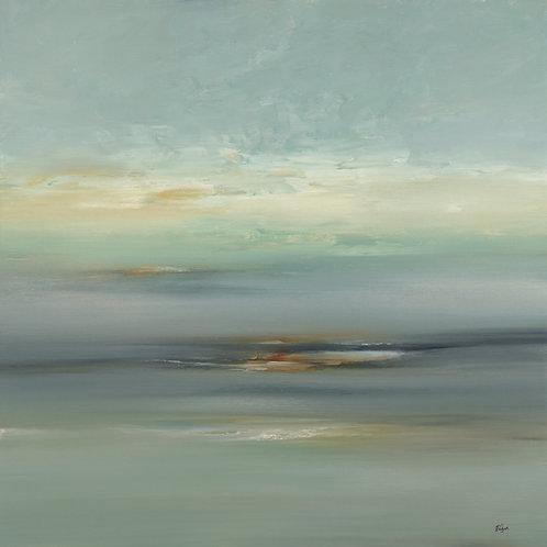 Breezy Scape by Lisa Ridgers 40x40cm