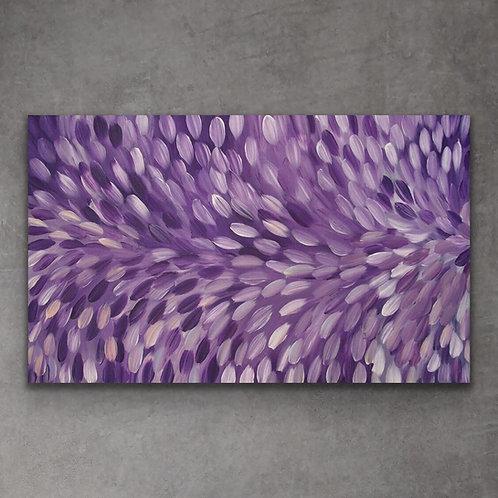 Bush Medicine Leaves, Gloria Petyarre 154x95cm