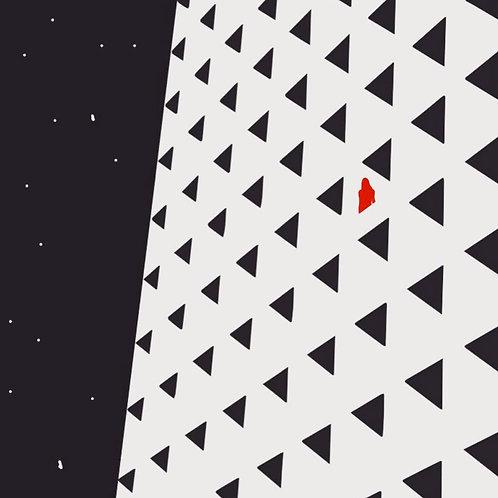 Stargazer by Rennie P 50x50cm