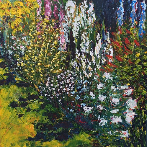 Flowers II - by Jane Vaux - by commission