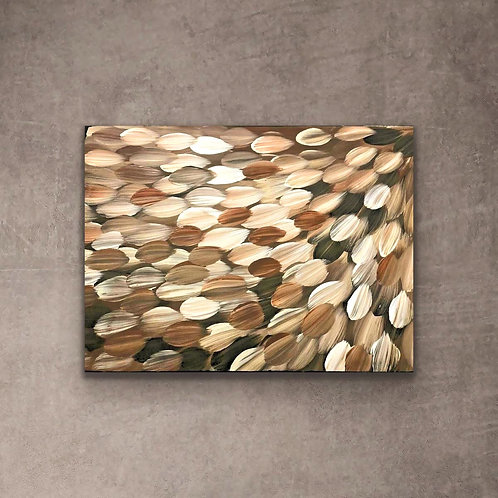 Bush Medicine Leaves, Gloria Petyarre 75x39cm