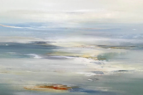 Soothing Scape by Lisa Ridgers 152x76cm