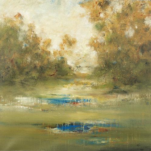 Treescape by Lisa Ridgers 40x40cm