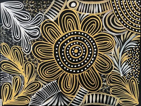 Waterholes by Selina Numina 30x40cm