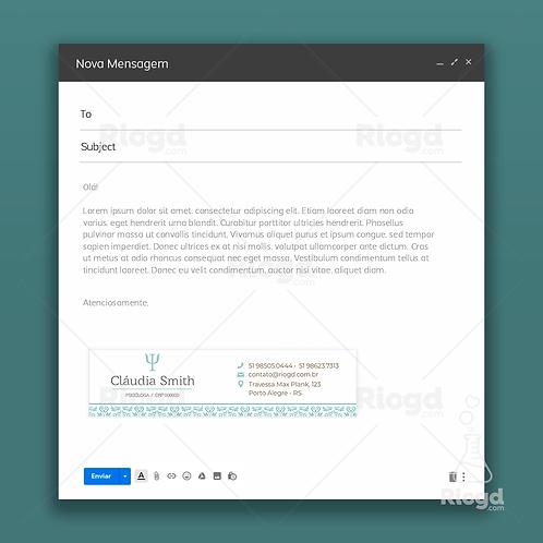 Assinatura de E-mail Personalizada para Psicólogos Dubai