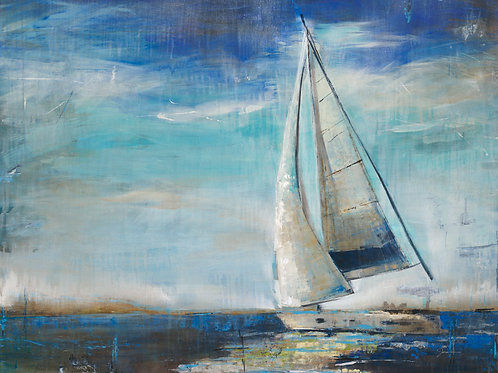 Sail Away by Liz Jardine 40x30cm