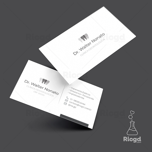 Cartões de Visita Impressos - Coleção Translúcido - Especialista
