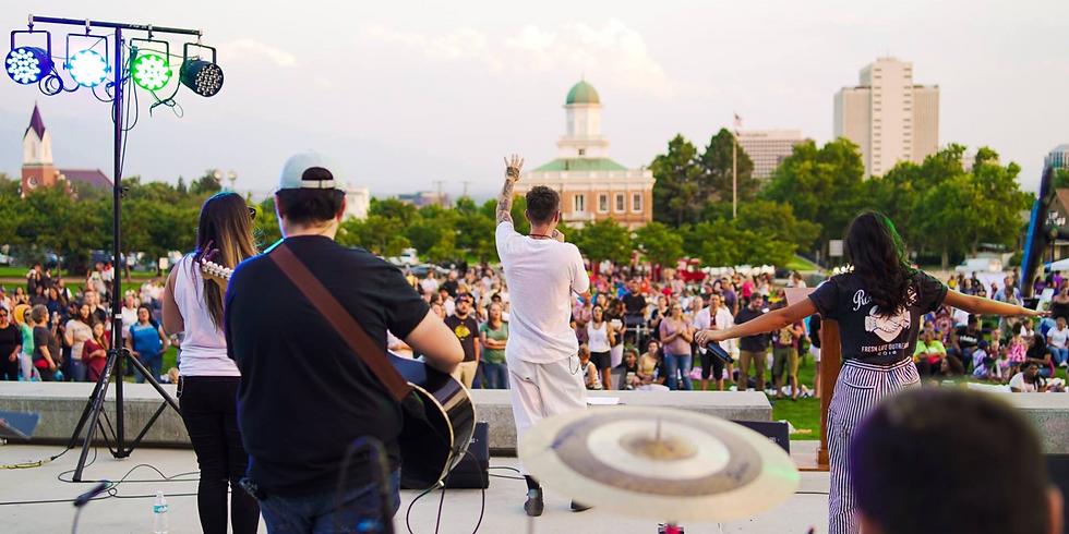 Worship 2019 at The Utah State Capitiol