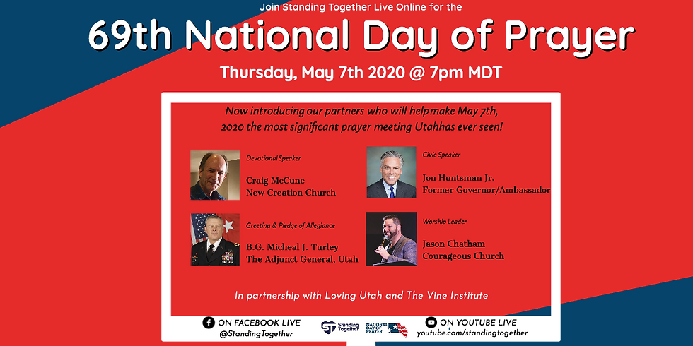 The 69th National Day of Prayer Live Online with Standing Together!