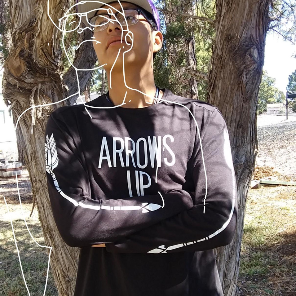 Youth Arrows up Shirt