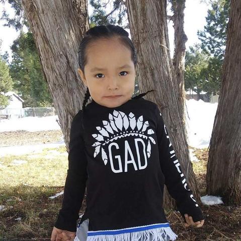 Aboriginal Dual Sleeve Tee Childrens