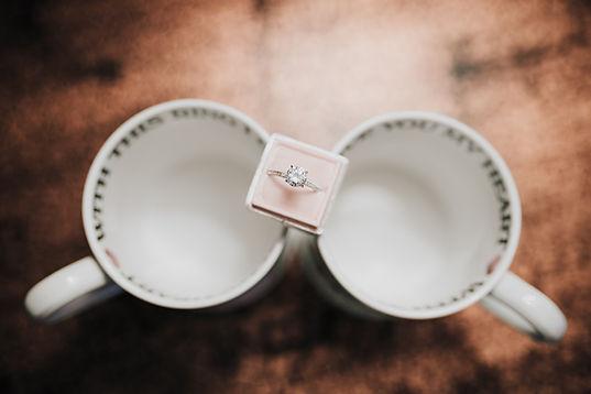 Coffee, Engagement Ring, Las Vegas Wedding Photographer, LunaRae Photography