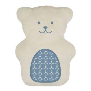 Ursinho terapêutico bege e azul
