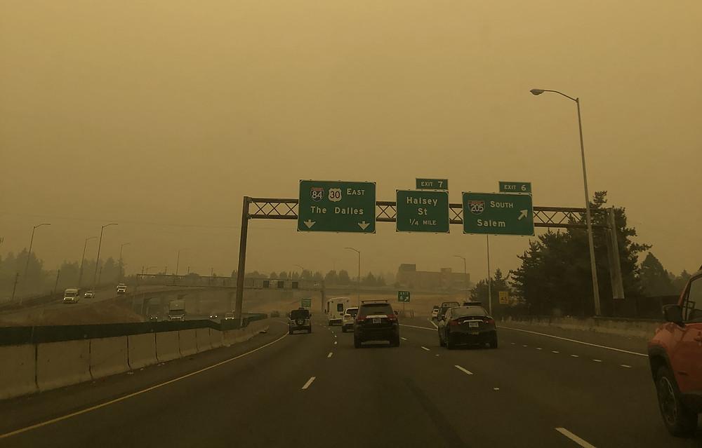 Portland Air Quality Sept. 11, 2020