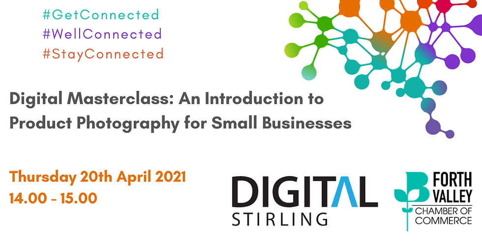 Digital Masterclass: An Introduction to Product Photography for SME's