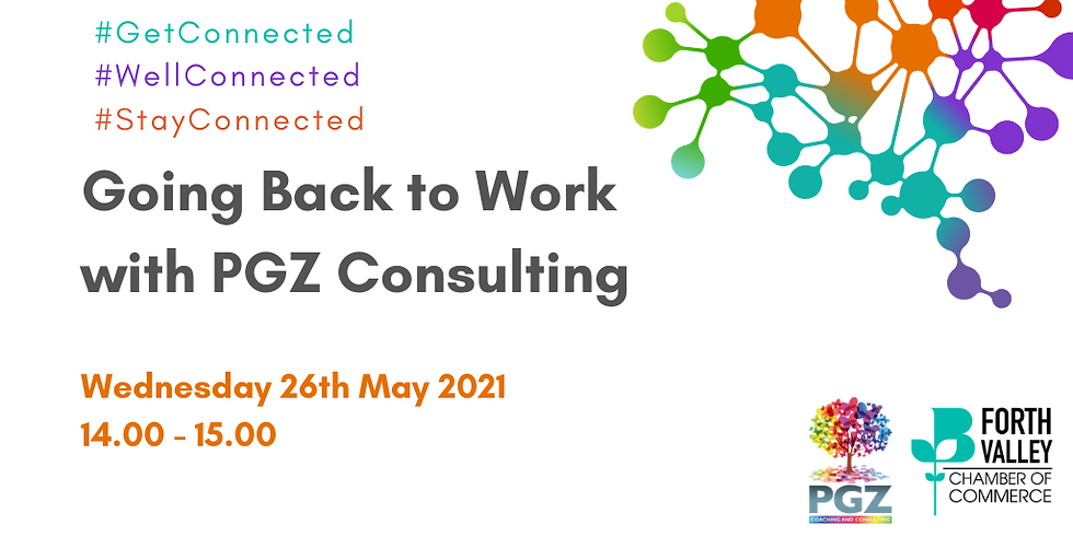 Going Back to Work with PGZ Consulting