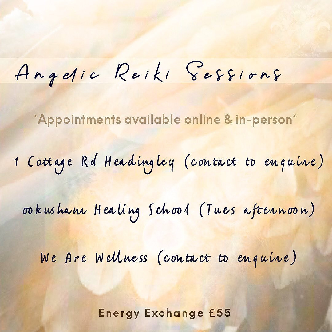 Angelic Reiki Zoom or In-Person