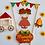 Thumbnail: Topo de Bolo Festa junina Carrinho - Arquivo de Corte