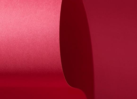 Papel Vermelho Escuro 30,5x30,5cm (PEQUIM) COLOR PLUS - 20 unidades