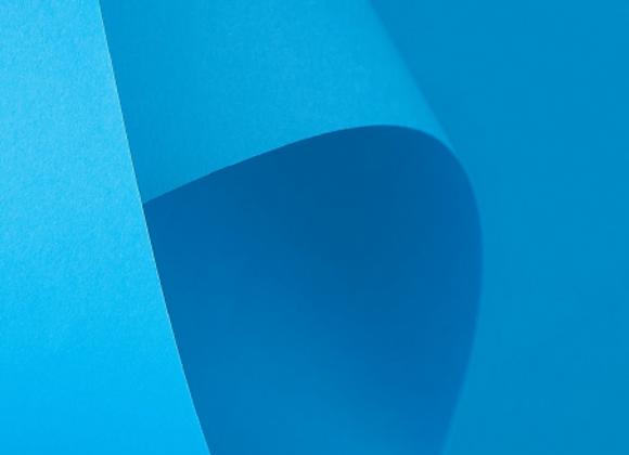 Papel Azul Turquesa A4 (BAHAMAS) COLOR PLUS - 20 unidades