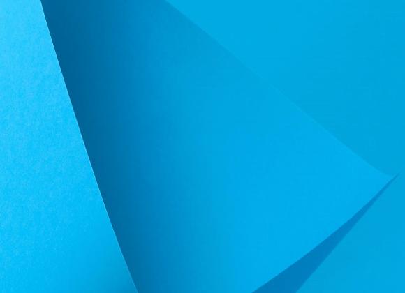 Papel Azul Flúor A4 (COLOR FLUO BLUE) - 20 unidades