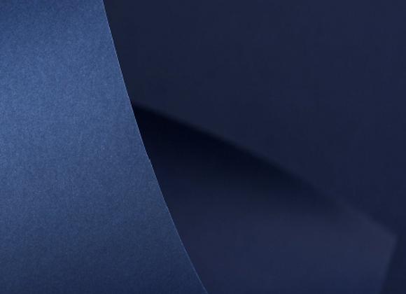 Papel Azul Marinho A4 (PORTO SEGURO) COLOR PLUS - 20 unidades