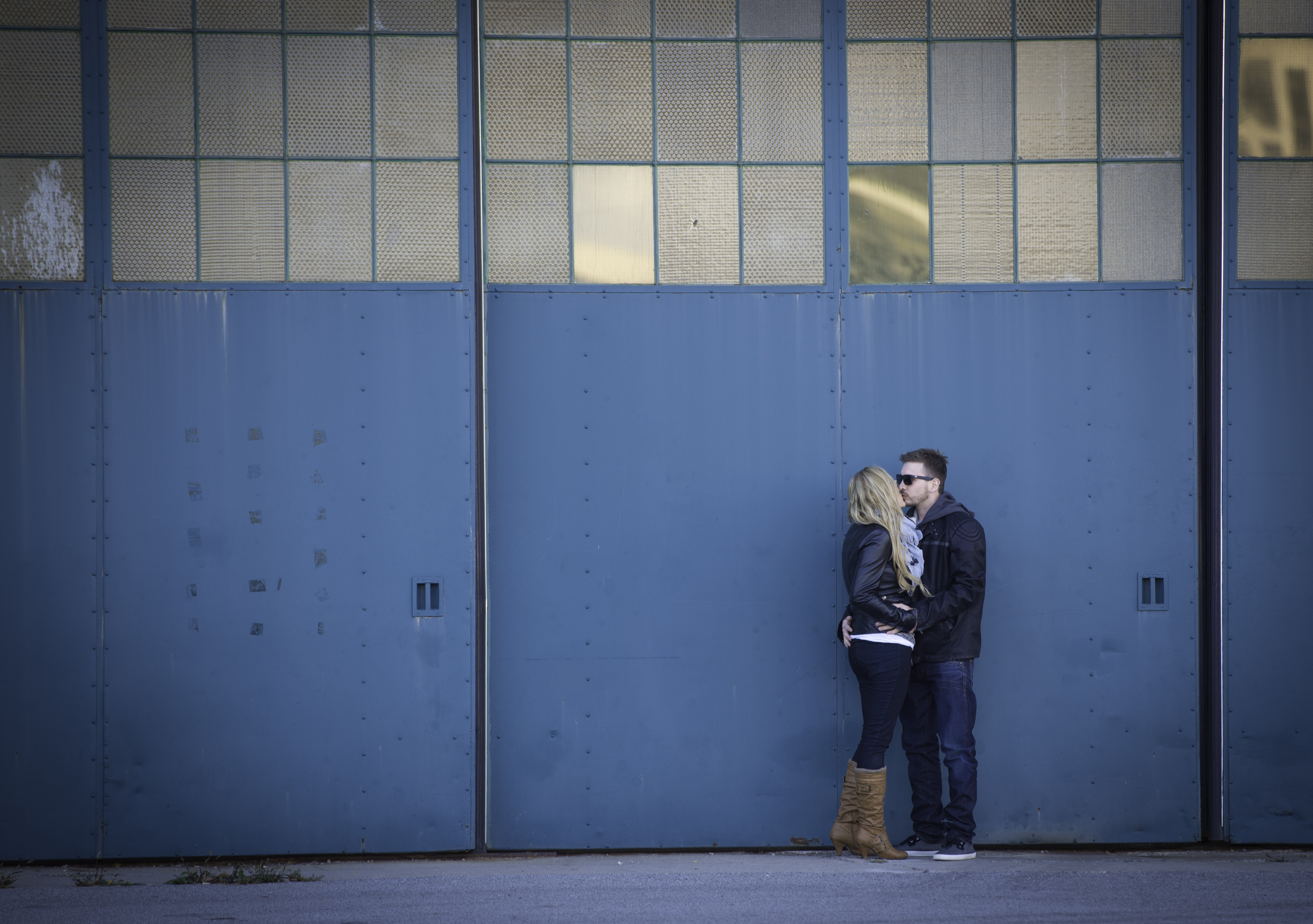Engagement Photo at Downsview Park