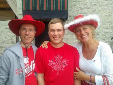 Happy Canada day faces!