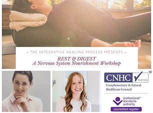 REST & DIGEST A Nervous System Nourishme