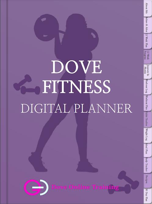 12-Week Digital Fitness Planner