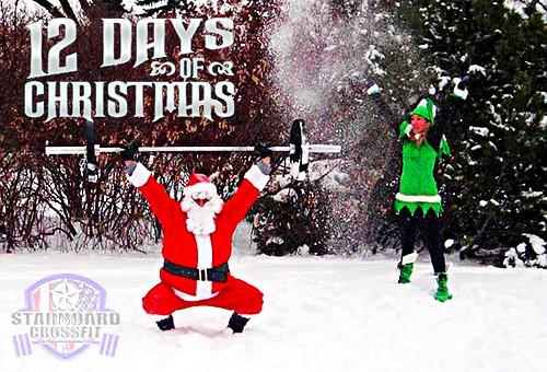 Starboard CrossFit   12 Days/Barbells of Christmas