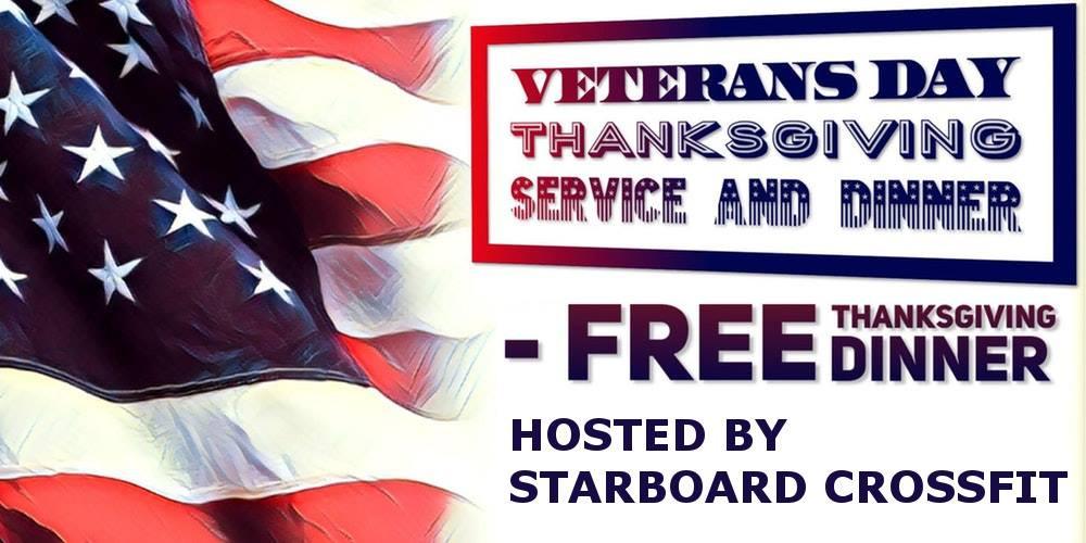 Starboard CrossFit | Thanksgiving Day | Veterans Dinner