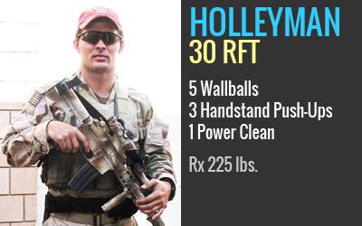 Holleyman   Hero WOD   Starboard CrossFit