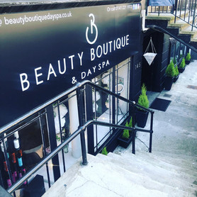 Beauty Boutique Entrance