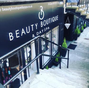 Beauty Boutique Entrance