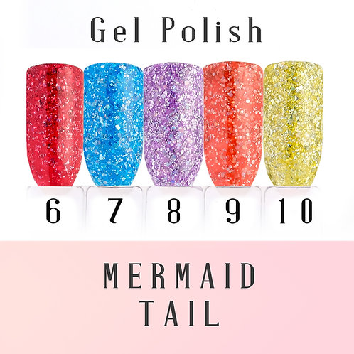 Mermaid Tail Collection 6-10
