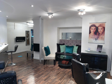Brow & Lash Treatment Area