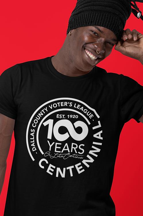Dallas County Voter's League 100 years Centennial T-Shirt