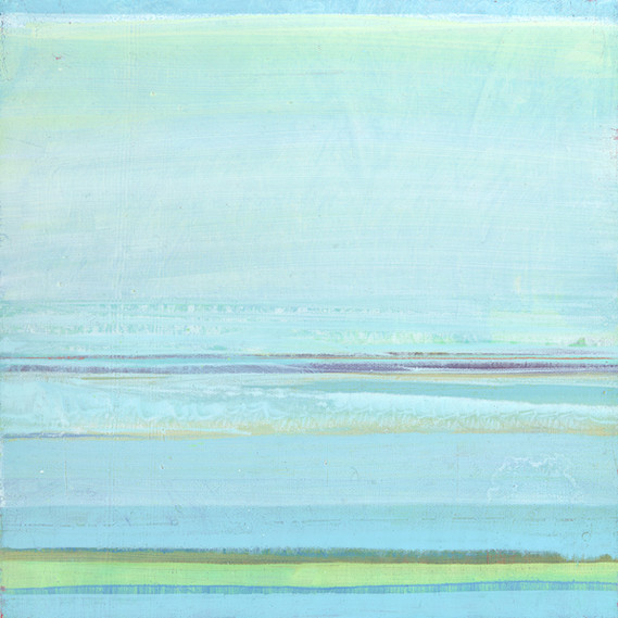 Ocean Series: Untitled 1, 12 x 12 inches, oil on canvas. 2017. Original SOLD. Available.