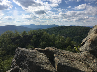 View fom Chimney Mountain