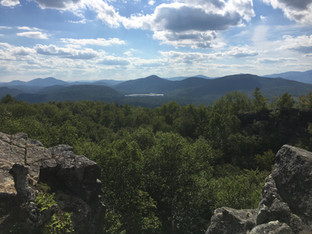 View from Chimney Mountain