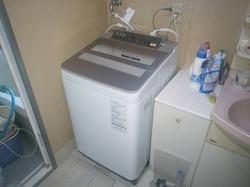 洗濯機パナ