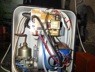 【山鹿市】灯油風呂釜の修理に行ってきました。